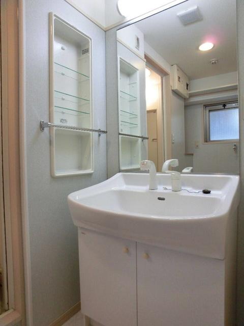 カーム ヴィラ / 401号室洗面所