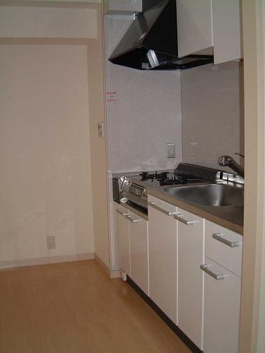 カーム ヴィラ / 602号室キッチン