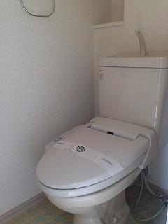 ステラ箱崎611 / 202号室トイレ