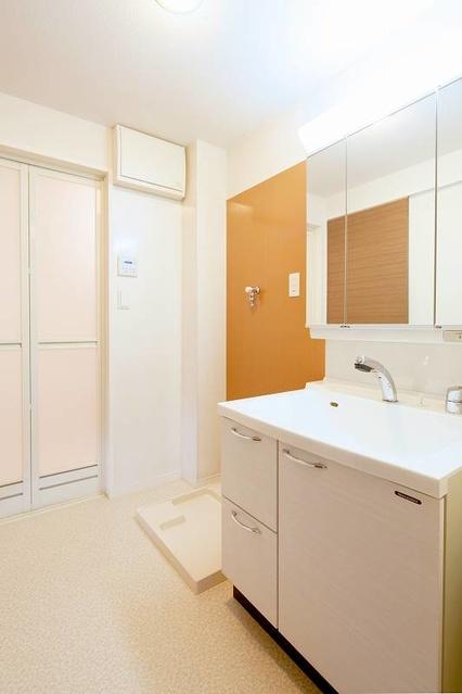 筥松なつめビル / 302号室洗面所