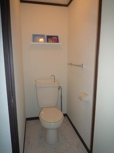 レジデンス牛房 / 102号室トイレ