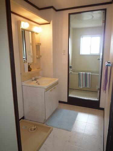 レジデンス牛房 / 103号室洗面所