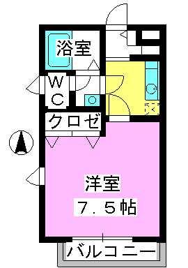 サンライズ箱崎 / 201号室