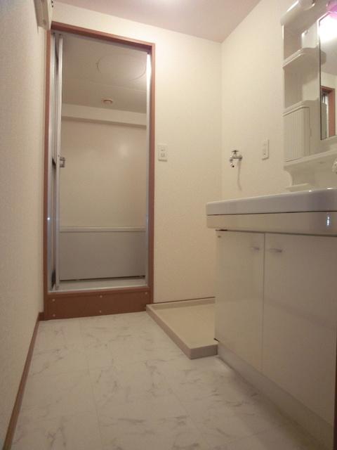 グリシーヌ空港 / 403号室洗面所