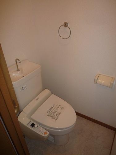 シャルム空港南 / 402号室トイレ