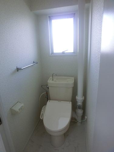 本園ビル / 403号室トイレ