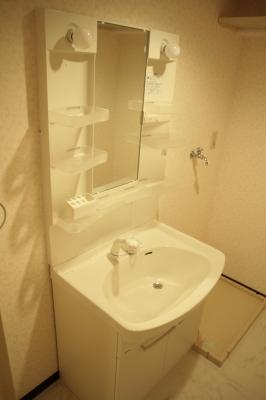 サン・ビィーム吉塚 / 401号室洗面所