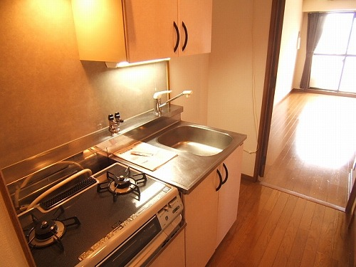 ルミノスコート / 807号室キッチン