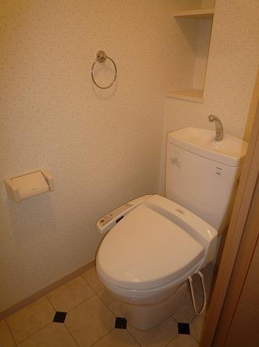 リバーランドⅥ / 505号室トイレ