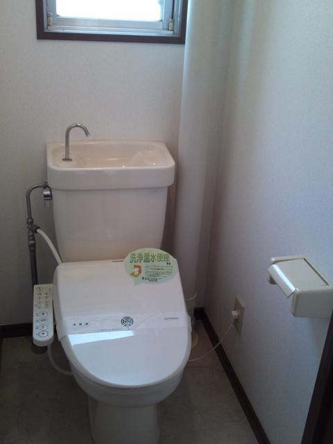 サンハイツKUDO / 301号室トイレ