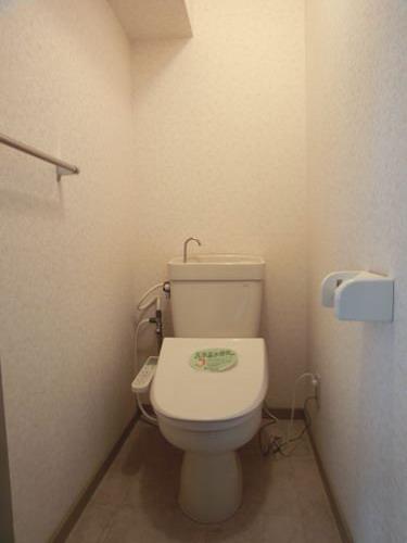 シティハイツ篠栗 / 401号室トイレ
