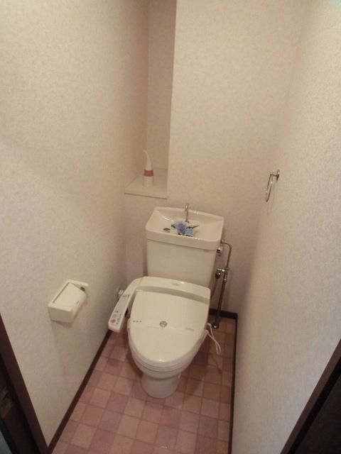 ハイ・アルブル迎田 / 302号室トイレ