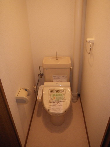 エントピア空港東 / 303号室トイレ