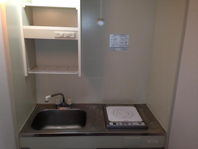 プレデュパルク壱番館 / 403号室キッチン