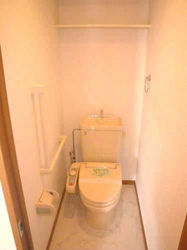 ベルデュール宮の杜 / 201号室トイレ