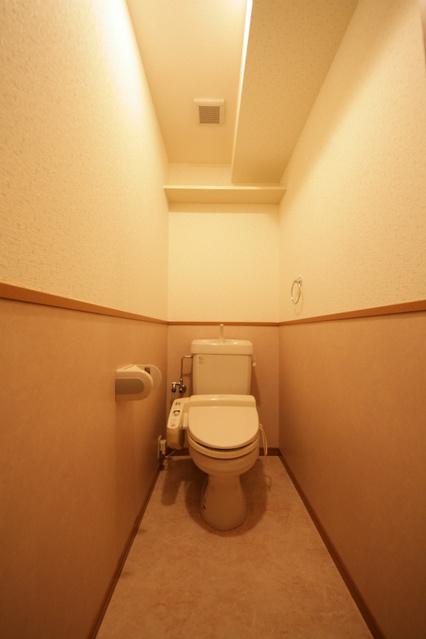 シャトレ東 / 203号室トイレ