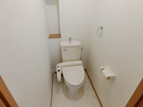 サン・ビオ空港通り(ペット可) / 402号室トイレ