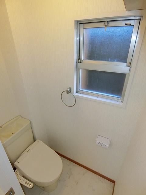 コーポラス梅津 / 103号室トイレ