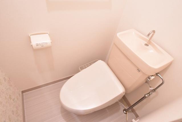 駅東レジデンス / 303号室トイレ