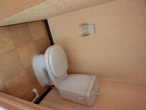 ハイ・コート(ペット可) / テンポA号室トイレ