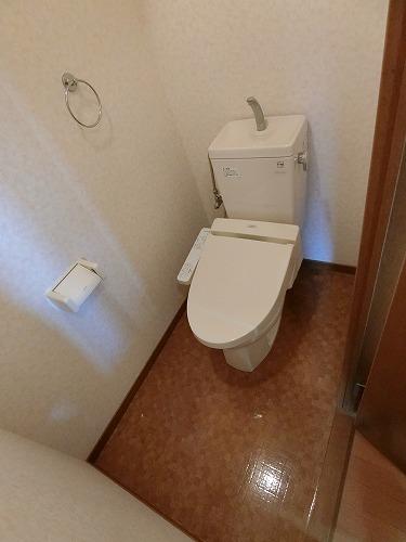 リバーランド箱崎Ⅴ / 405号室トイレ