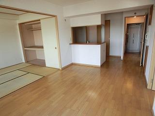 マノワール箱崎 / 601号室リビング