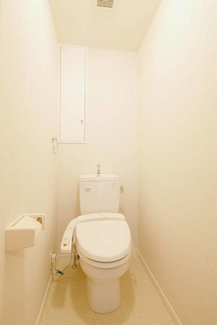 筥松なつめビル / 402号室トイレ