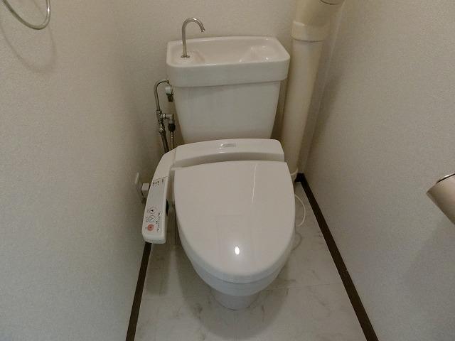ファミール篠栗 / 401号室トイレ