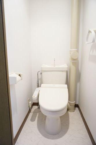 コムフォート・シティ / 101号室トイレ