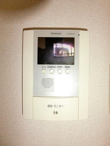 コムフォート・シティ / 202号室セキュリティ