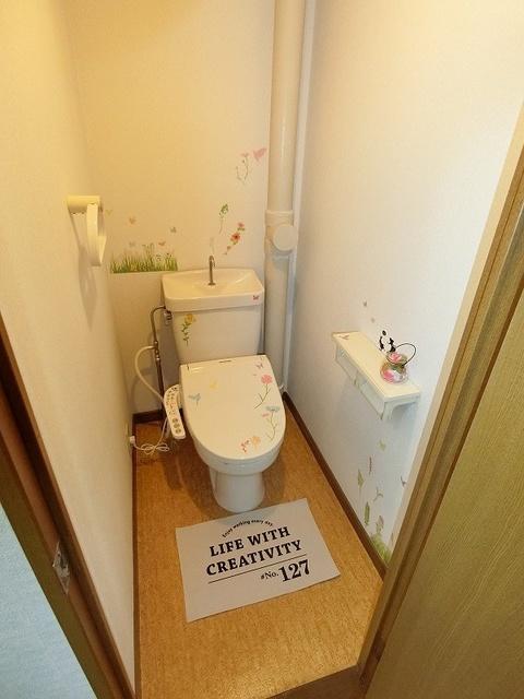 コムフォート・シティ / 403号室トイレ