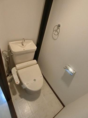 リバーサイド貝田 / 302号室トイレ