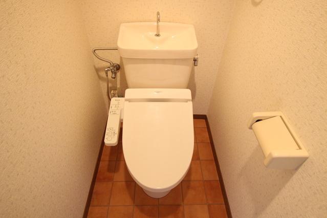 サンヒルズTAKEDAⅡ / 302号室トイレ