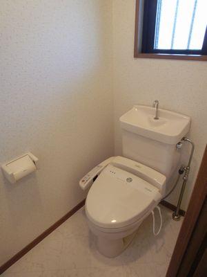 グランコート / 203号室トイレ