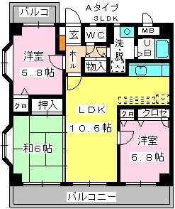 メゾン・ド・ソレイユ / 501号室