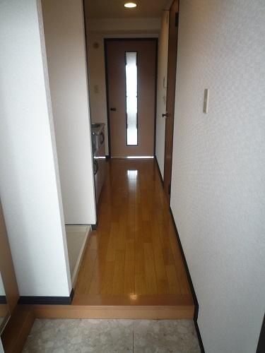 スクレーパー東 / 301号室玄関