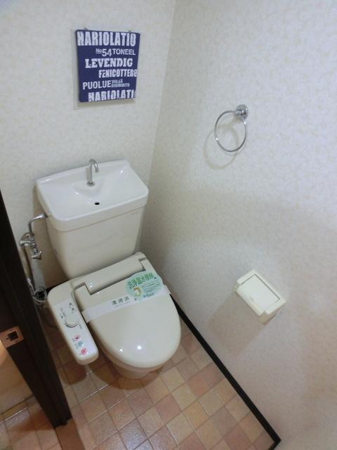 スクレーパー東 / 303号室トイレ