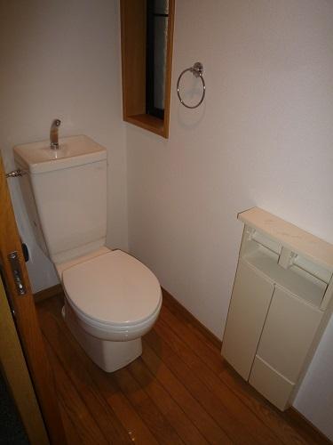 パークサイド黒川 / 102号室トイレ