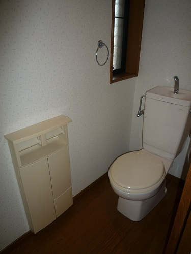 パークサイド黒川 / 304号室トイレ
