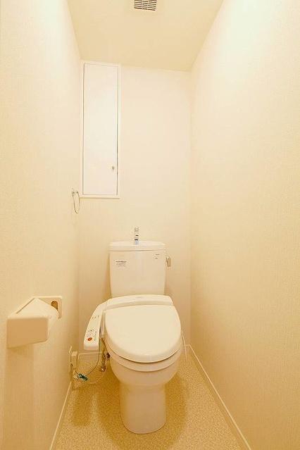 筥松なつめビル / 302号室トイレ