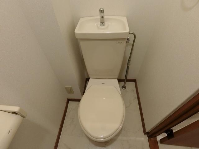 ティアラ 安川 / 203号室トイレ