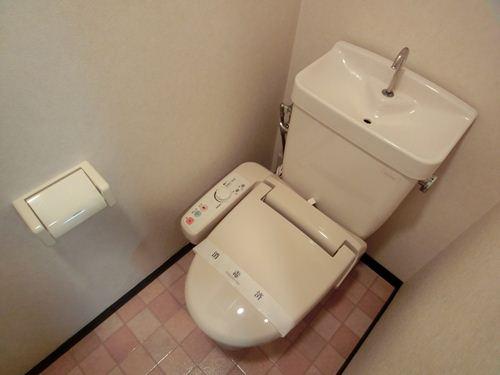 スクレーパー東 / 402号室トイレ