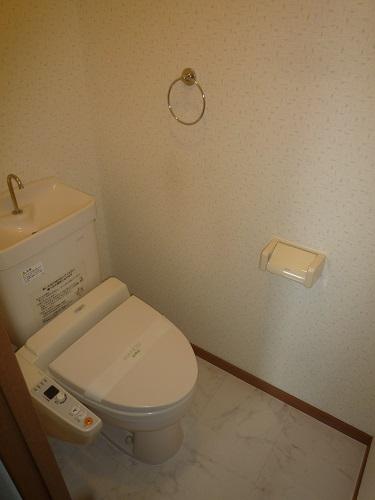 グリシーヌ空港 / 201号室トイレ