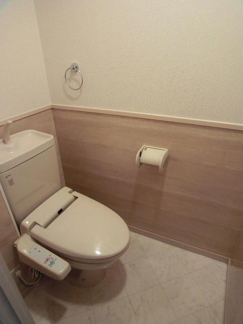 カーム ヴィラ / 202号室トイレ