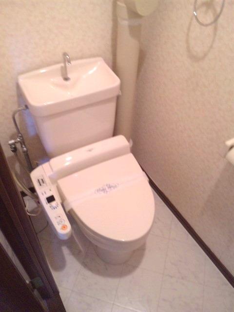 サンシャイン篠栗 / 2-301号室トイレ