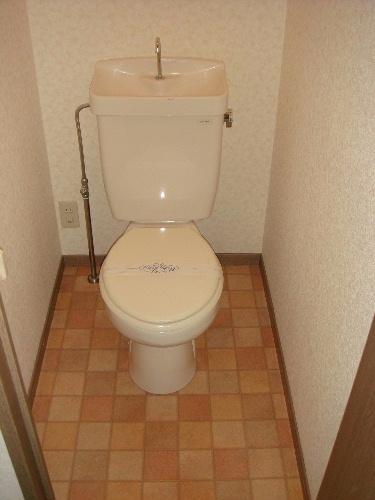 メロディハイツ戸原 / A-203号室トイレ
