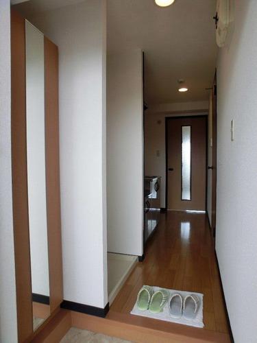 スクレーパー東 / 201号室玄関