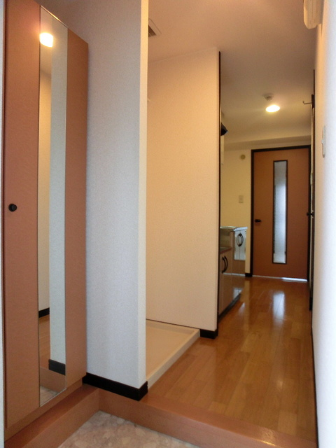 スクレーパー東 / 203号室玄関