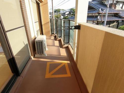 シャトレ東 / 402号室バルコニー