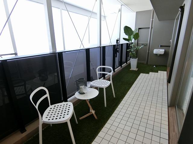 ネオグレイス吉塚 / 1301号室バルコニー